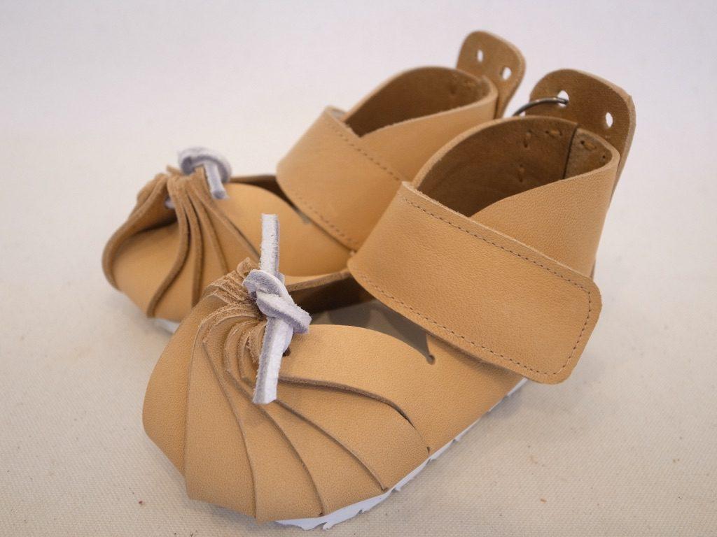 しゅうまい子ども靴・ベージュ