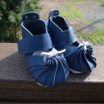 ベビー靴・ブルー