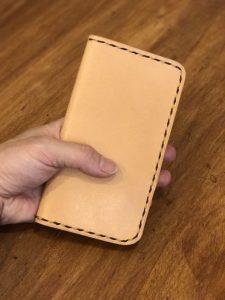 ◆ 手縫いで作るiPhone7・7plusケース ◆ ¥5,000