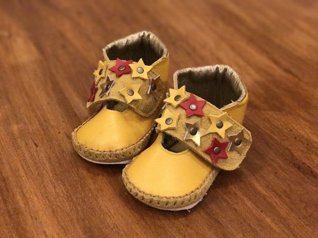お星さま子ども靴