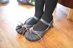 しゅうまい大人靴 ネイビー