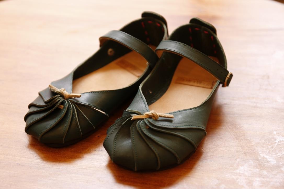 自宅にお届けワークショップ しゅうまい靴