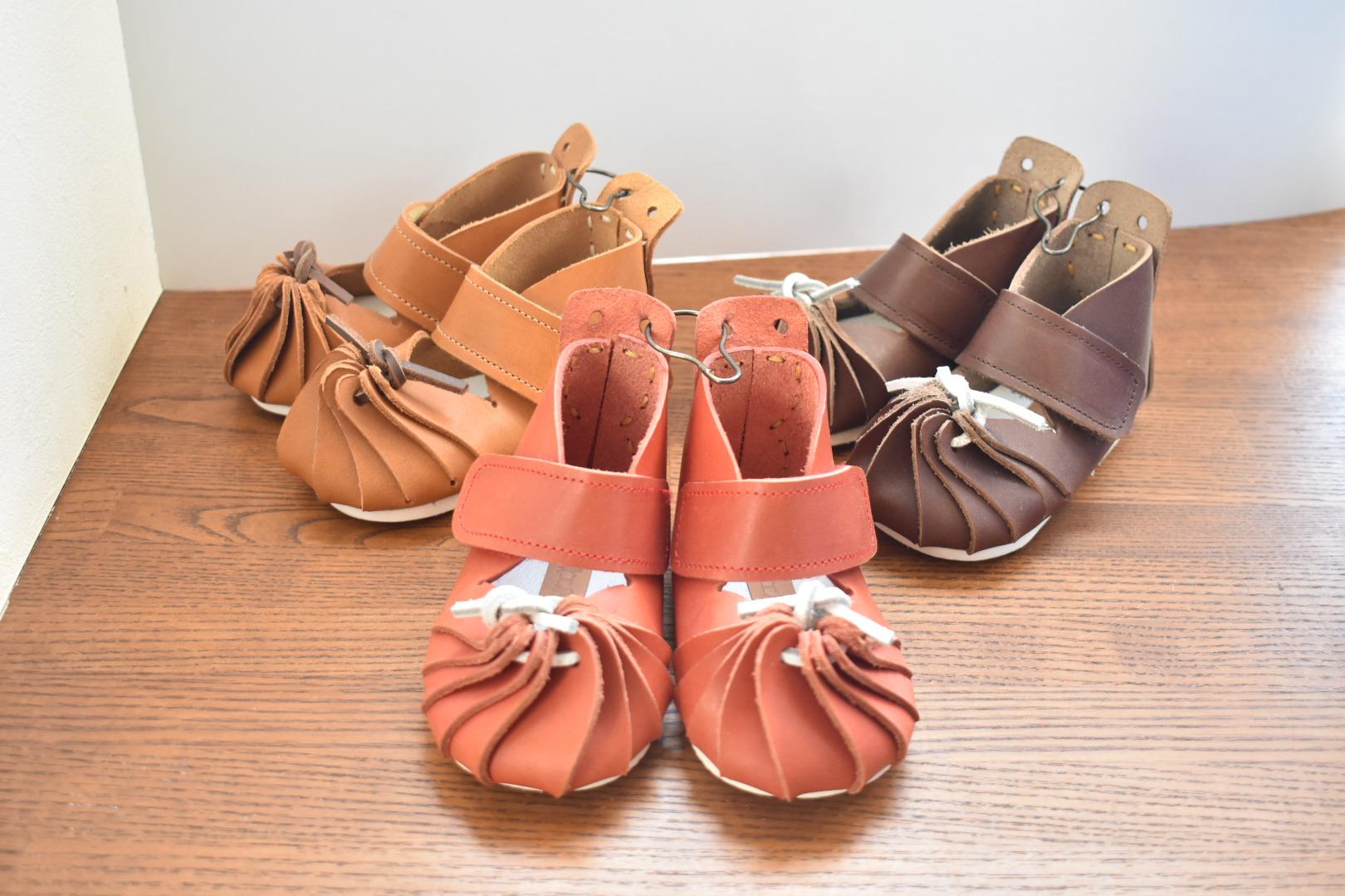 自宅にお届けワークショップ しゅうまいベビー靴