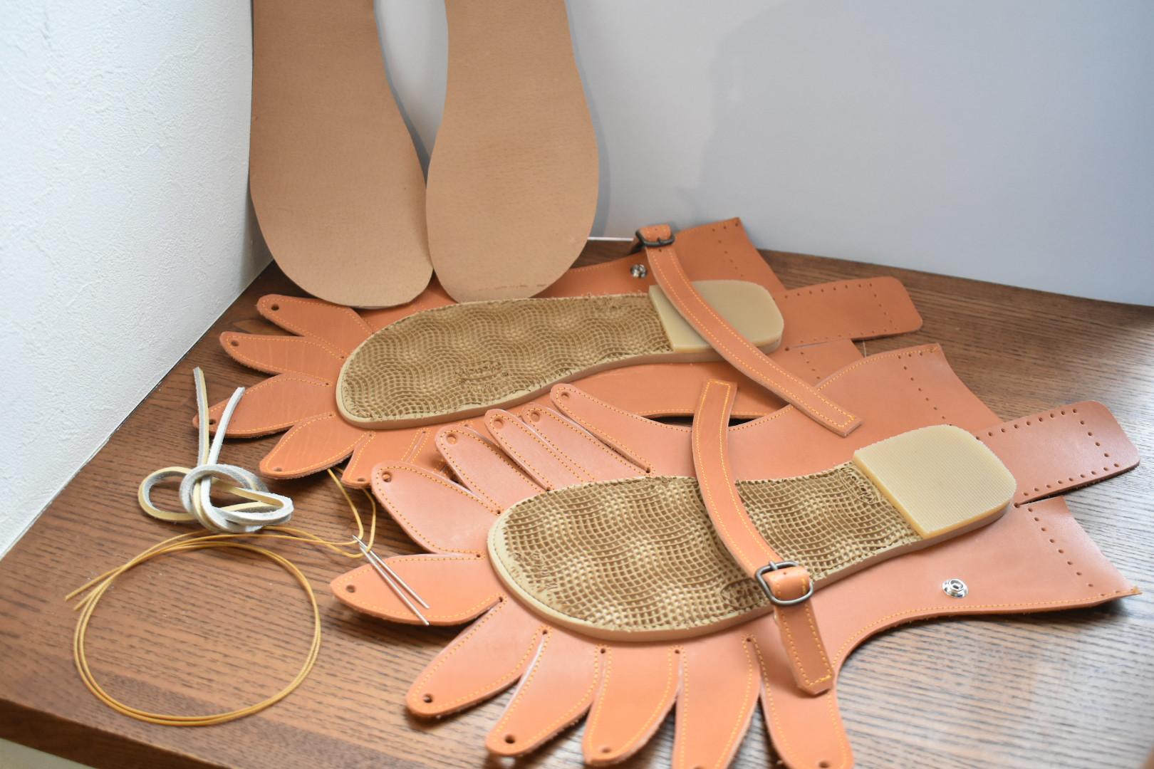 自宅にお届けワークショップ しゅうまい靴キット